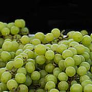 Green Green Grapes Art Print