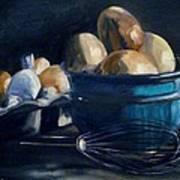 Green Hill Farms Fresh Eggs Art Print