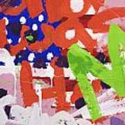 Green M Art Print