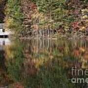 Green Mountain Lake Art Print