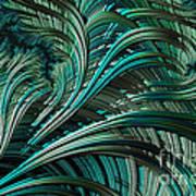 Green Palm - A Fractal Abstract Art Print
