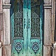 Green Patina Art Print by Marcia Lee Jones