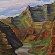 Green River Utah Art Print by Lucy Deane