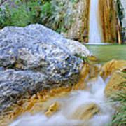 Green River Waterfalls Art Print