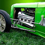 Green Rod Art Print
