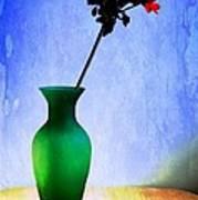 Green Vase 2 Art Print by Donald Davis