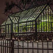Greenhouse In Winter #2 Art Print