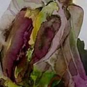 Greenish Pepper Art Print