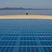 Greetings To The Sun Zadar Installation Art Print