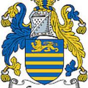 Gregory Coat Of Arms Irish Art Print