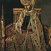 Gregory I The Great, Saint 540-604 Art Print