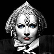 Greta Garbo Portrait Art Print