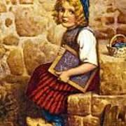 Gretel Brothers Grimm Art Print