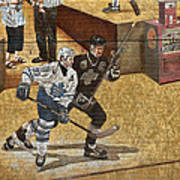 Gretzky And Gilmour 2 Art Print