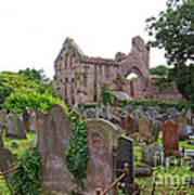 Grey Abbey Cemetery Art Print