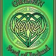 Griffin Soul Of Ireland Art Print