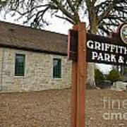 Griffith Quarry Park And Museum Penryn California Art Print