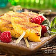 Grilled Pineapple  Art Print