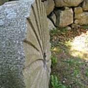 Grinding Stone Art Print