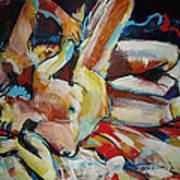 Grip Spooning Art Print