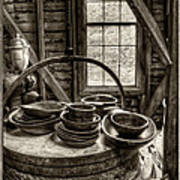 Grist Mill Art Print by Donnie Bagwell
