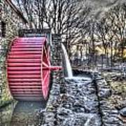 Grist Mill Sudbury Art Print by Adam Green