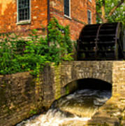 Grist Mill Print by Thomas Woolworth