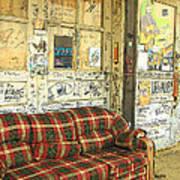 Front Porch - Ground Zero Blues Club Clarksdale Ms Art Print