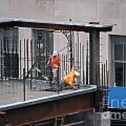 Ground Zero Construction Art Print