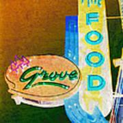 Grove Fine Food Var 3 Art Print by Gail Lawnicki