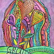 Grow In Grace Art Print