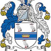 Grumley Coat Of Arms Irish Art Print