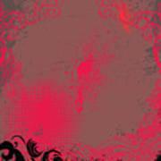 Grunge Background Art Print
