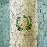 Grunge Guatemala Flag Art Print