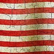 Grunge Liberia Flag Art Print