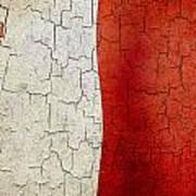 Grunge Malta Flag Art Print
