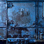 Grunge Old Metal Texture Art Print