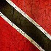 Grunge Trinidad And Tobago Flag Art Print