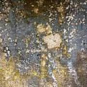 Grungy Cement Wall Art Print