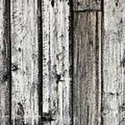 Grungy Old Wood Background Art Print