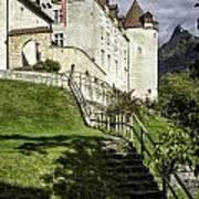 Gruyeres Castle Art Print