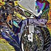 Gsxr Color Art Print