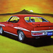 Gto 1971 Art Print