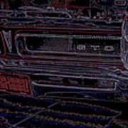 Gto Car Art Art Print