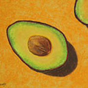Guacamole Time Art Print