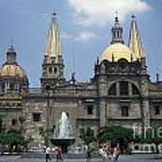 Guadalajara Cathedral Mexico Art Print