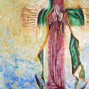 Guadalupana Art Print by Karina Llergo