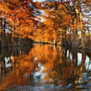 Guadalupe River, Texas Hill Country Art Print