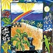Guam Art Print