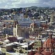Guanajuato Skyline Mexico Art Print